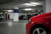 Underground parking — Stockfoto