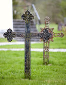 Grave cross — Stock Photo
