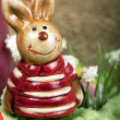 Easter bunny figure — Stock Photo