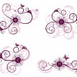 Royalty-Free Stock Imagen vectorial: Collection of floral design elements