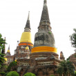 Stock Photo: Wat Yai Chai Mongkol temple