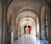 Palace Corridor , Hallway of Kings in Versailles — Stock Photo
