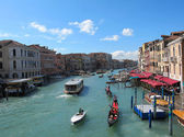 Venice 's Grand Canal in Italy — Stock Photo