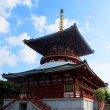 Japanese Religious Architecture - Stock Photo
