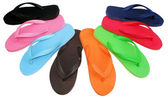 Flip flop colorful — Stock Photo