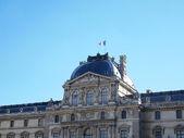 Pavillon sully och flagg — Stockfoto