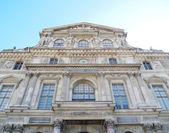 перед pavillon сюлли в париж франция — Стоковое фото