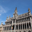 King's House Grand Place in Brussels, Belgium - Stock Photo