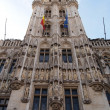 Grand Place in Brussels , Belgium (Vertical) — Stock Photo
