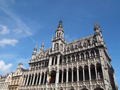 King's House Grand Place in Brussels, Belgium — Stock Photo