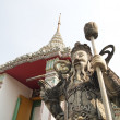 The stone Giant Guard at Wat Pho — Stock Photo