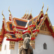 The stone statue dreamy at Wat Pho, Bangkok - Thailand — ストック写真