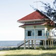 Stock Photo: MarukhathaiyawPalace in HuHin Thailand