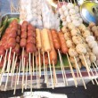 Grill Fish balls , Beef Balls , Pork Balls - Stock Photo