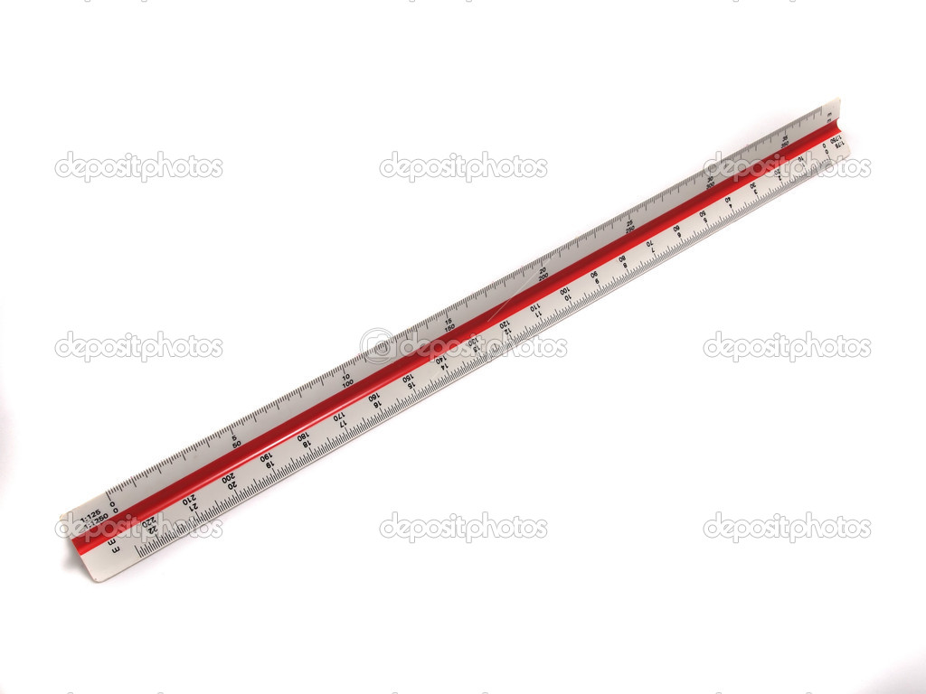 measurement scale ruler for architect — stock photo © thaifairs