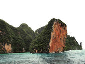 The Phi Phi Islands are located in Thailand — Stock Photo