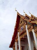 Wat Chalong Temple on Phuket island , Thailand — Stock Photo