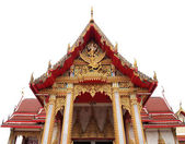 Wat Chalong Temple on Phuket island Thailand — Stock Photo