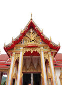 Wat Chalong Temple on Phuket island in Thailand — Stock Photo