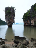 The island Ko Tapu National Park in Thailand — Stock Photo