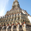 Detailed of Pagoda in the Wat Arun (Temple of the Dawn) — Stock Photo
