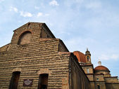 Church of San Lorenzo in Florence , Italy — Stock Photo