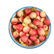 Apples in a bowl — Stock fotografie