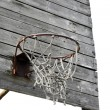 Outdoor basketball hoop — Stock Photo #4110638