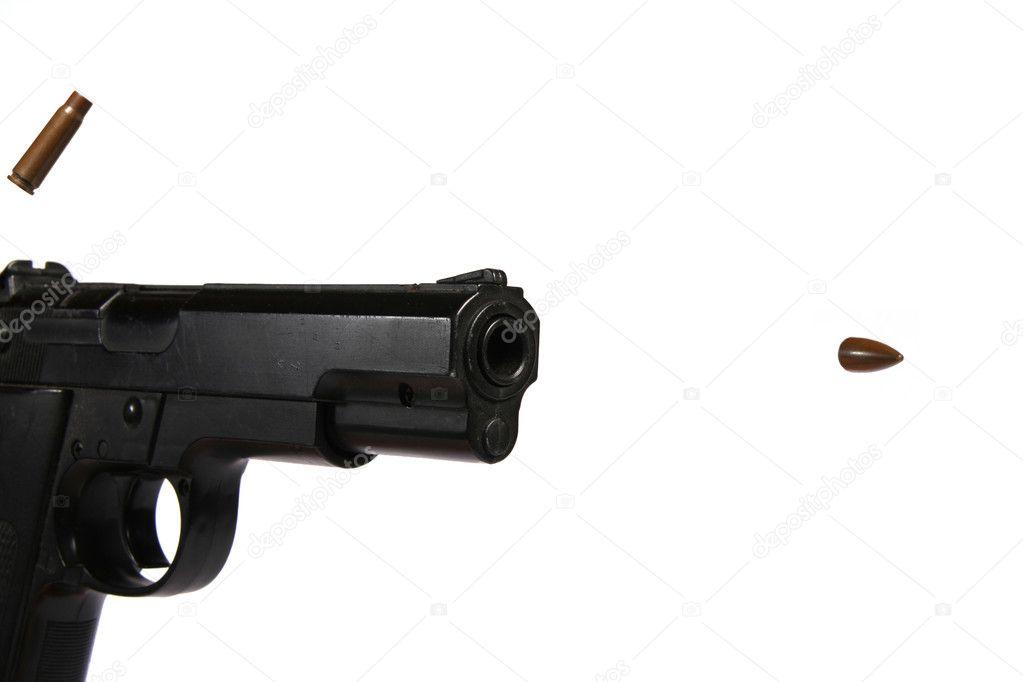 Gun Shooting Bullet Fo...