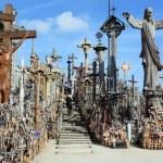 Hill of Crosses, Lithuania, Siauliai — Stock Photo
