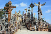 Hill of Crosses, Lithuania, Siauliai — Stock Photo