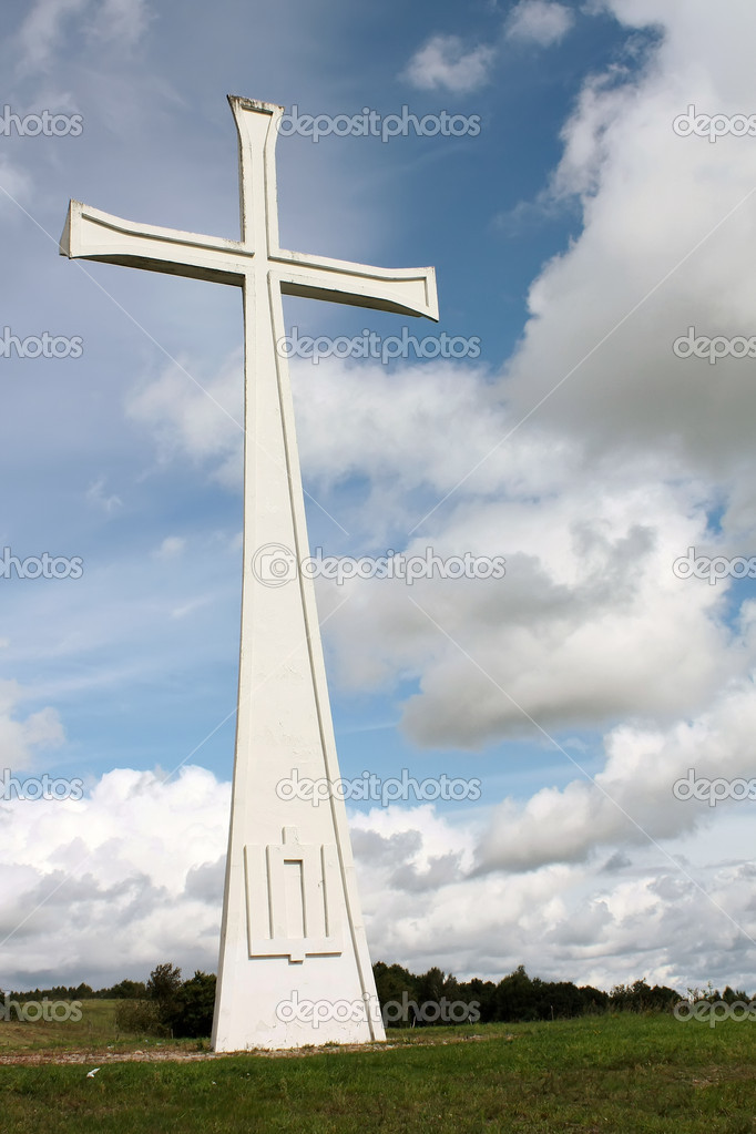 Cross, Lithuania, Kaltin — Stock Photo #4569254