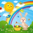 Vector illustration of a easter card — Stock Photo #4068726
