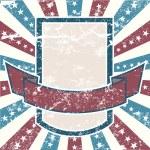 旧颜色美国背景 — 图库矢量图片
