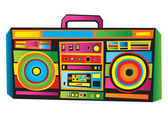 Funny Boom Box — Vetorial Stock