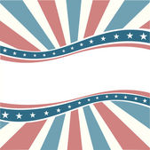 American background in old color — Stock Vector