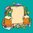 Stock Vector: Beer Party Banner