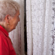 Loneliness in old age — Stock Photo #4095215