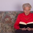 Loneliness in old age — Stock Photo
