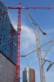 Hafencity hamburg — Stockfoto