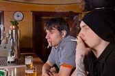 In de bar — Stockfoto