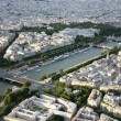 Kind to Paris from Tour Eiffel height — Stock Photo #4669579