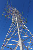 Tower of a high-voltage line — Stock Photo