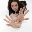 Look at my hands — Stock Photo #4946339