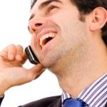 Business man on phone — Stock Photo #4116020