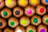 Mucchio di matite colorate — Foto Stock