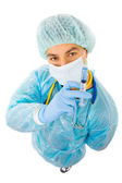 Young doctor full body — Stock Photo