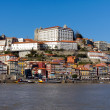 Ribeira - the old town of oPorto, north of Portugal - Stock Photo