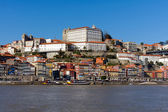 Ribeira - the old town of oPorto, north of Portugal — Stock Photo