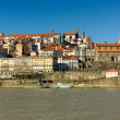 Ribeira, the old town of oPorto city, north of Portugal — Stock Photo
